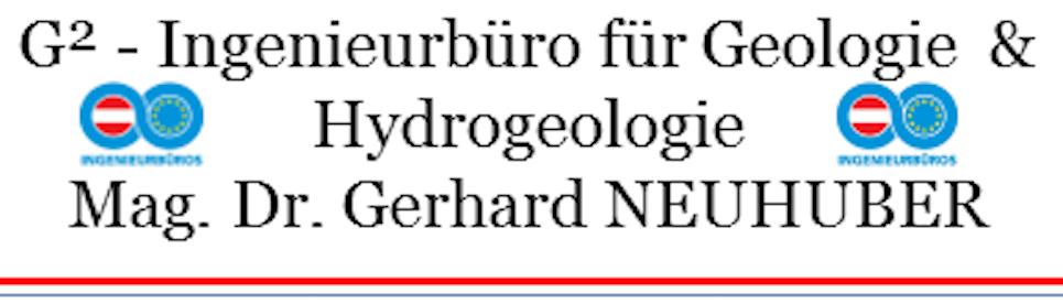 G²-Ingenieurbüro für Geologie & Hydrogeologie Mag.Dr.Gerhard Neuhuber | Das Ingenieurbüro aus Hartkirchen aus dem Bezirk Eferding in Oberösterreich ist Ihr Ansprechpartner für Geologie, Hydrogeologie und Geotechnik.